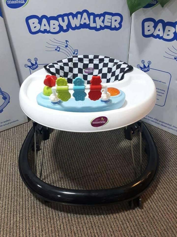 Xe tập đi có đồ chơi tròn W2002TP7